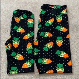 Matching St. Patty's Lularoe Leggings